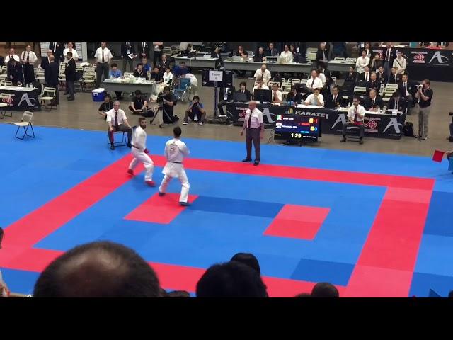 KARATE 1 TOKYO 2018 🇯🇵🥋 highlights first day -75 kg