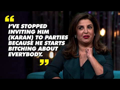 13 No Holds Barred Moments From Farah Khan-Sania Mirza on Koffee with Karan | SpotboyE