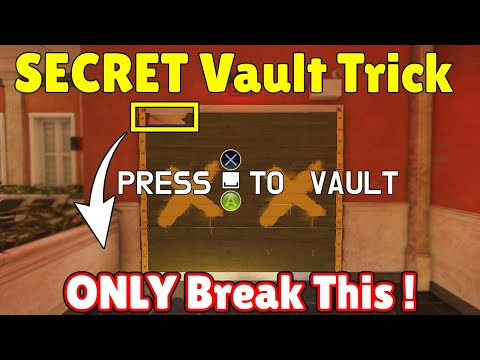 NEW * SECRET * Vault Trick Will Let You Make The CRAZIEST RUNOUTS EVER - Rainbow Six Siege