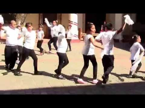 Peru music and dance performed by Children in Santiago, Chile