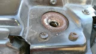 Бмв Е39 как открыть капот, оборвался тросик между ноздрями