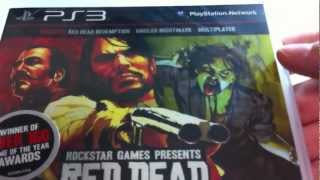 Red Dead Redemption GOTY Edition Unboxning Playstation 3