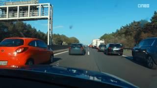 Autobahn-Polizei kontrolliert Rettungsgasse und ermahnt Autofahrer | POV GoPro Einsatzfahrt