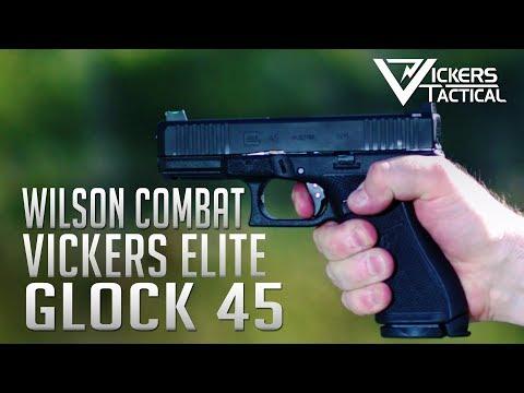 Vickers Elite Glock 45 from Wilson Combat 4K