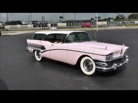 1958 Buick Century Caballero Estate Wagon Youtube