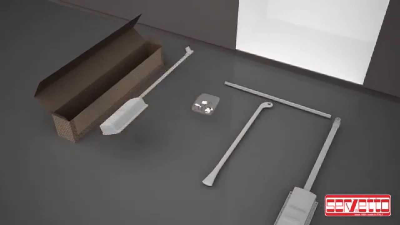 Servetto Appendiabiti.Come Installare Il Servetto Per Armadio Istruzioni Montaggio Servetto