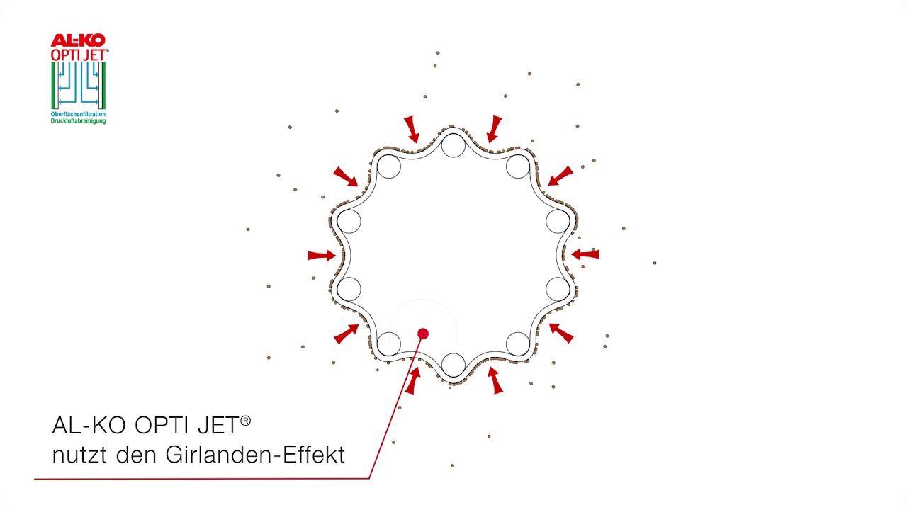 Download AL-KO POWER UNIT Entstauber - Filterabreinigung OPTI JET