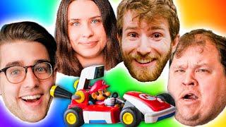 Mario Kart Live Home Circuit 4 Player CHALLENGE