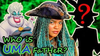 DESCENDANTS 2 🍎 Who is UMA`s Father? 🐙
