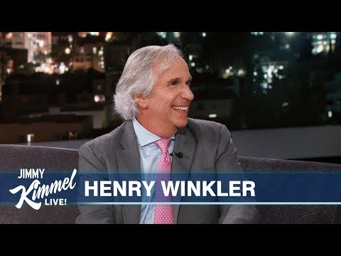 Henry Winkler used his 'Fonzie touch' to talk a 17-year-old off ledge