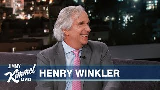 "Henry Winkler on Saving a Fan's Life, The Fonz & ""Barry"" Emmy Win"