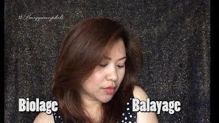Biolage not Balayage || Busyqueenphils Hair Experience