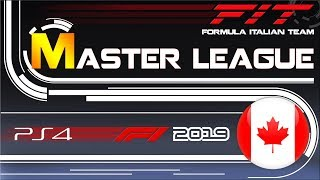 Master League F1 2019 #07 Gran Premio del Canada 21.11.2019 - Live Streaming