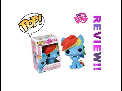 Funko My Little Pony ! Vinyl Figures Rainbow Dash Review