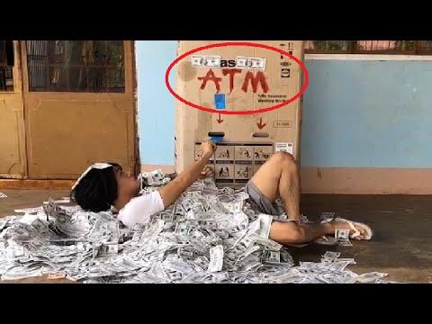 Phim Hài: Ăn Xin ToRung Đi Rút Tiền (Beggar Go To Withdraw Money)