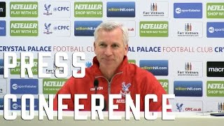 Alan Pardew Pre-Southampton Press Conference