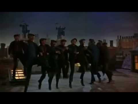 Mary Poppins - Roof Scene Step in time *Revised*