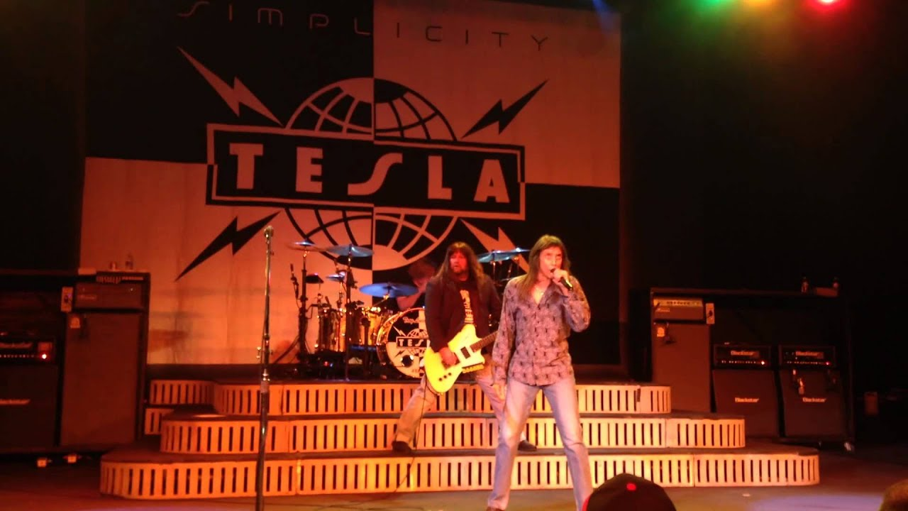 Tesla Hang Tough Live From San Antonio S Aztec Theater