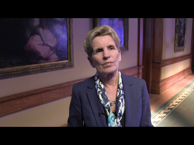 Ontario Premier Kathleen Wynne says the delivery of a throne speech nine days before the Liberals' pre-election budget was to give context to her government's priorities. Opposition parties have criticized the timing of the speech. (The Canadian Speech)