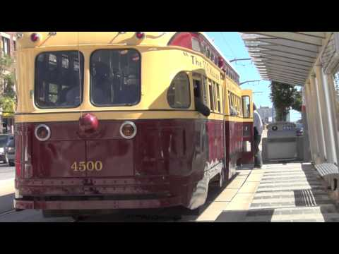 Toronto Historic Streetcars St Clair Avenue September 2013 TTC Toronto Transit Commission