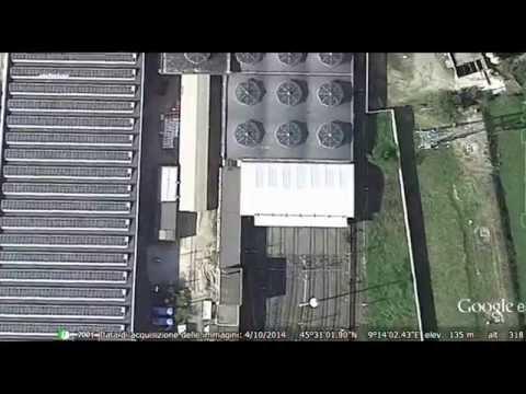 Sportivi in ATM viva Inter a Milano dal satellite
