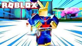 COMBATE SOLO CONTRA ALL MIGHT! - Boku no Roblox: Remastered