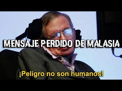 El mensaje cifrado del vuelo 370 y su relación con Stephen Hawking