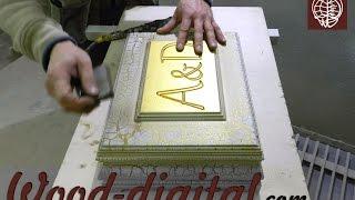 патинирование золотом деревянной шкатулки | столярная мастерская в Москве(, 2014-07-09T06:58:26.000Z)