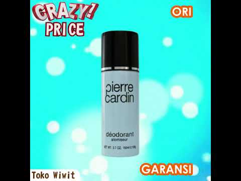 Pierre Cardin Deodorant Atomiseur Parfum 150ml Toko Wiwit Youtube