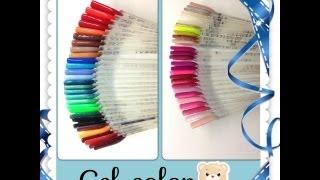 Review: I miei gel colorati Ricostruzione unghie (aggiornato)