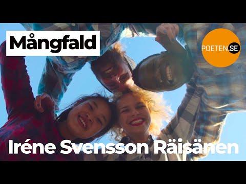 MÅNGFALD diktvideo av poeten Iréne Svensson Räisänen