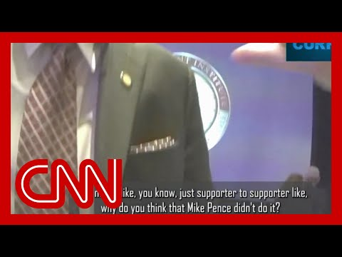 'Completely damning' video of Trump ally emerges
