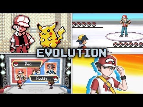 Evolution of Trainer Red Battles in Pokémon games (1999 - 2016)