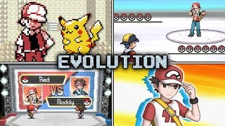 Repeat youtube video Evolution of Trainer Red Battles in Pokémon games (1999 - 2016)