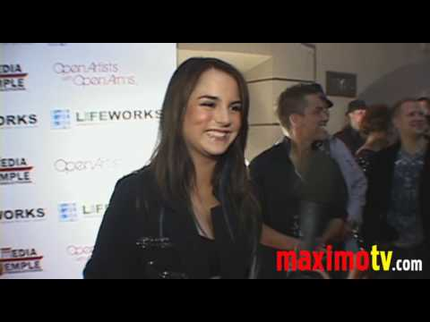 "JOJO Joanna Levesque Interview at ""POP GOES THE WORLD"""
