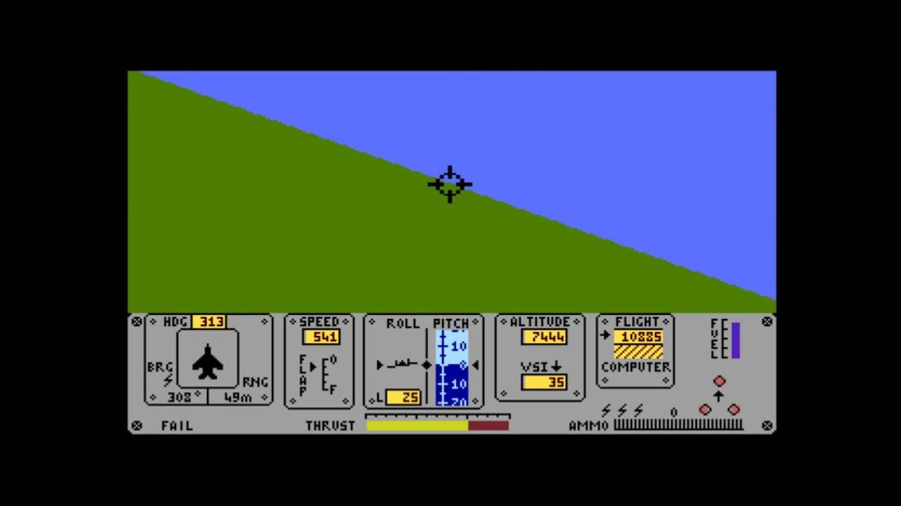 Resultado de imagen de fighter pilot 8 bits