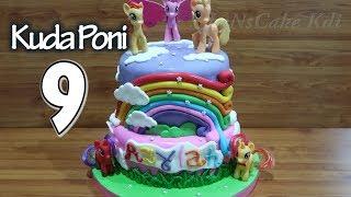 9 Amazing Kue Ulang Tahun Kuda Poni Cake Terbaik! KOMPILASI