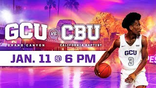 GCU Men's Basketball vs California Baptist January 11, 2020