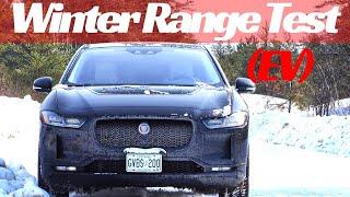 2019 Jaguar I-PACE Winter Road Test and Range Test
