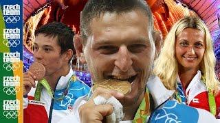 Olympiáda Rio 2016 Sestřih českých Medailí  Rio 2016