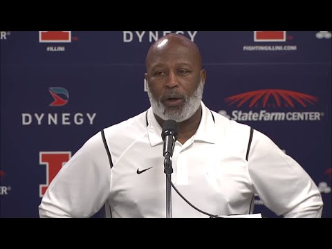 Lovie Smith February Signing Day Press Conference 2/7/18
