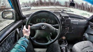 2006 ГАЗ Волга 31105 2.3 MT - First Person Driving / Вождение от первого лица