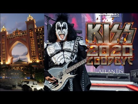 KISS GOODBYE 2020 CONCERT NYE ATLANTIS DUBAI