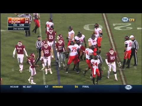 Bedlam 2014 Mason Rudolph and Overtime Highlights |