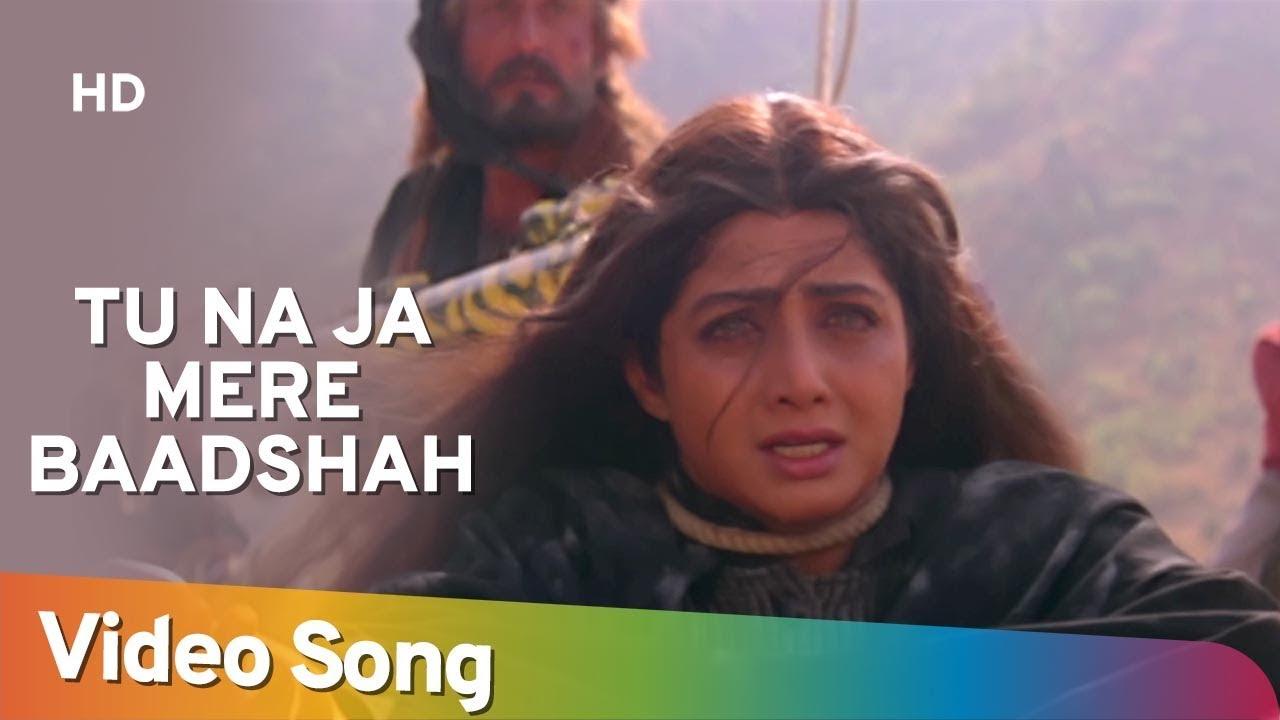 Tu Na Ja Mere (Sad) (HD) | Khuda Gawah Songs | Amitabh Bachchan | Sridevi |  Mohd Aziz | Alka Yagnik