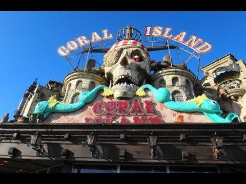 The Ghost Train Pov Coral Island Blackpool England Uk Youtube