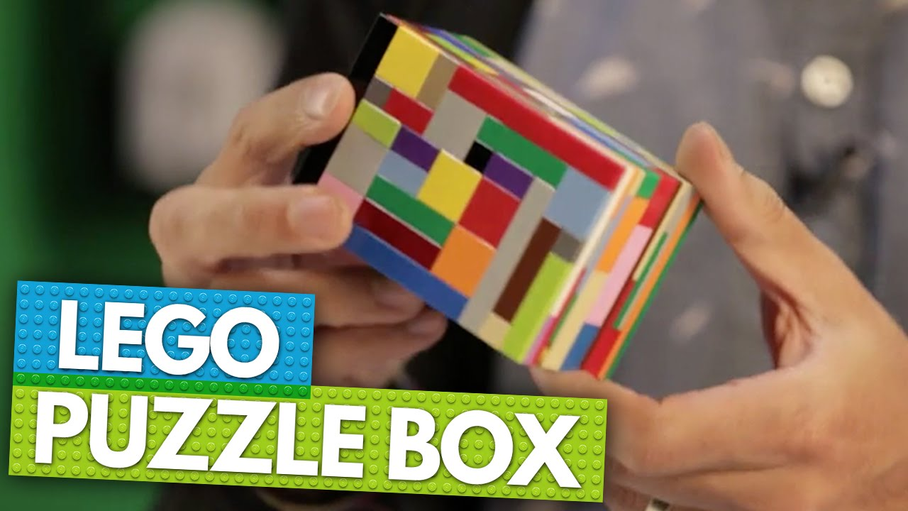 How to Build a LEGO Puzzle Box | BRICK X BRICK