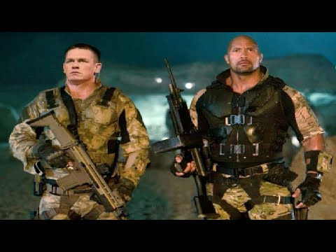 John Cena And The Rock Together In The Hollywood Movie !!