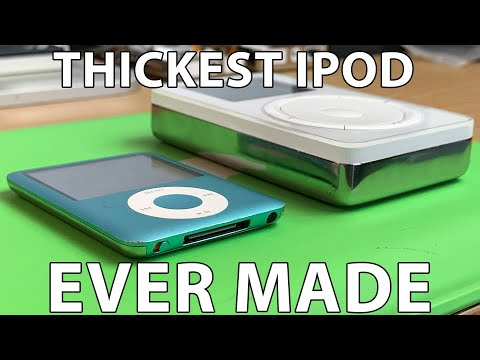The Thickest IPod Ever Made