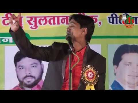 Suhail Azad at All India Mushaira, Nagpur, 20/11/2015, Mushaira Media